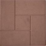 Тротуарная плитка Калифорния коричневая