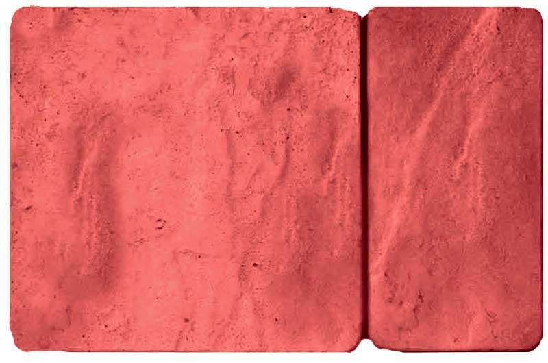 Брук комбинированный, красный, 50 мм