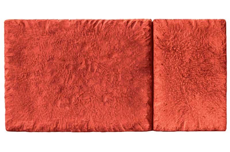 Брусчатка Марсель, красная, 50 мм
