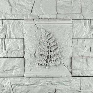 Декоративное гипсовое панно Листок