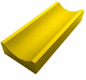 Водосток мелкий желтый