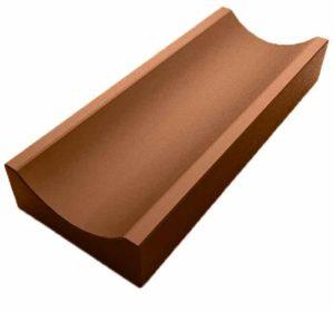 Водосток мелкий коричневый