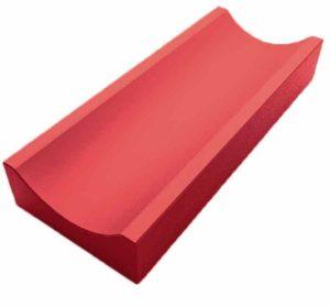 Водосток мелкий красный