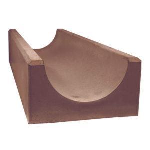 Водосток глубокий коричневый