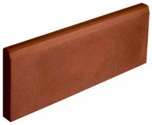 Бордюр садовый тонкий коричневый