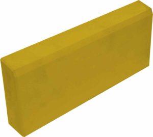 Бордюр садовый толстый желтый