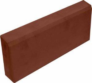 Бордюр садовый толстый коричневый