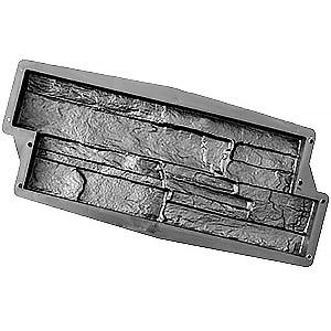 Форма для фасадной плитки Аспидный сланец №2 480х190 (П)