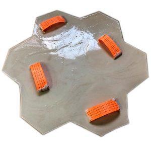 """Штамп для печатного бетона """"Рваный камень"""""""