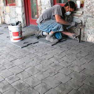 """Штамп для печатного бетона """"Лондон кабл"""""""