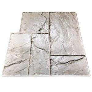 """Штамп для печатного бетона """"Тесаный камень"""""""