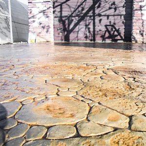 """Штамп для печатного бетона """"Садовый камень"""""""