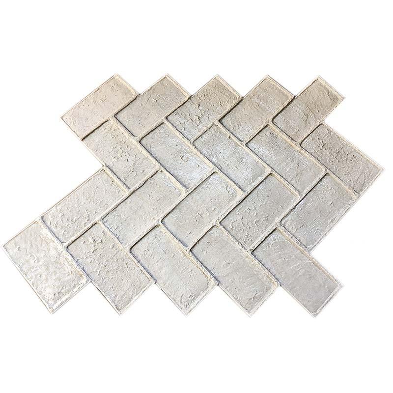 Штамп печатного бетона укладка бетонной смеси и уход за ними