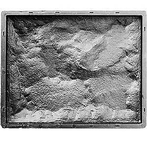Форма для фасадной плитки Колотый (рваный) камень №1 267x330