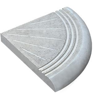 Форма ступень угловая (закругление)