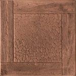 Тротуарная плитка Черноморская, 30 мм коричневая