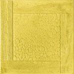 Тротуарная плитка Черноморская, 30 мм желтая