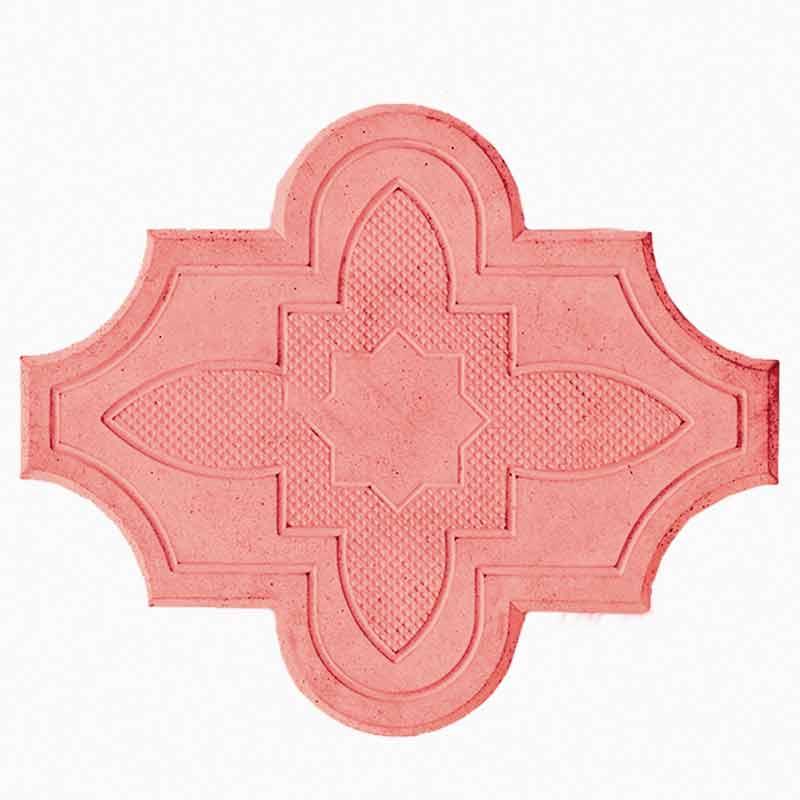 Брусчатка Клевер-цветок красная