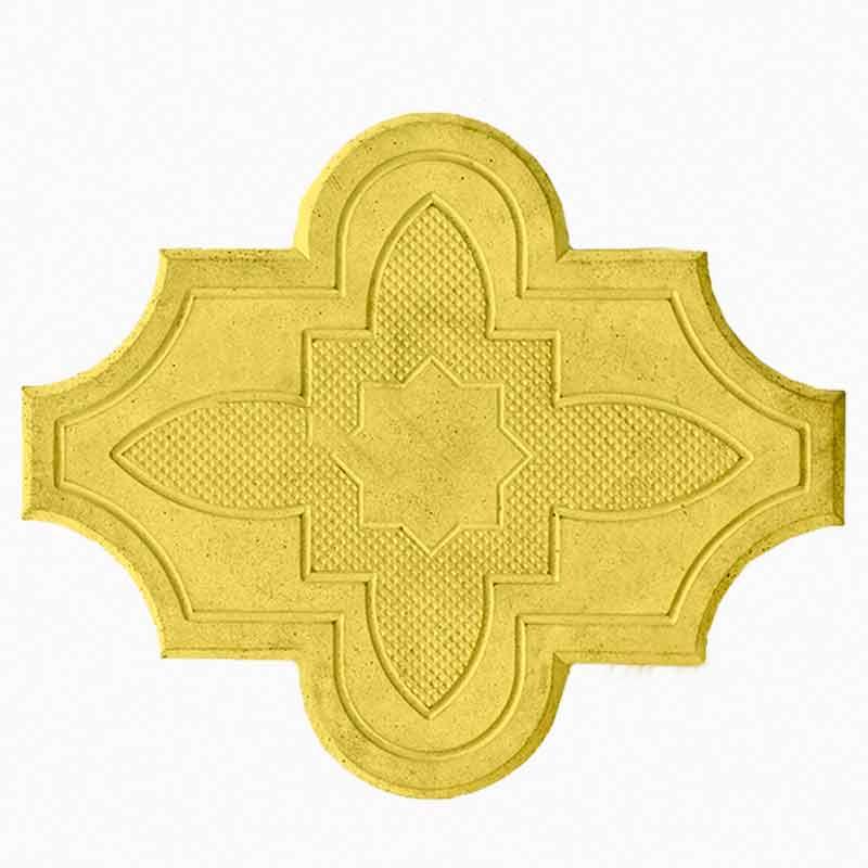 Брусчатка Клевер-цветок желтая
