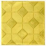 3-D Ковер желтая