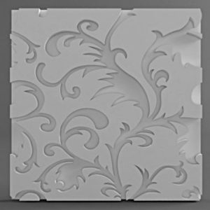 Форма для 3D панелей Паттер