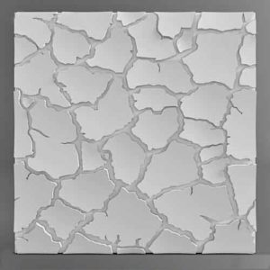Форма для 3D панелей Туф