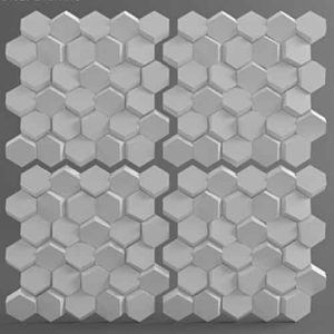 Форма для 3D панелей Улей
