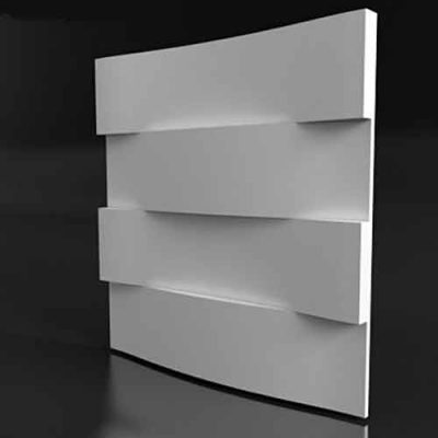 Форма для 3D панелей Дуги