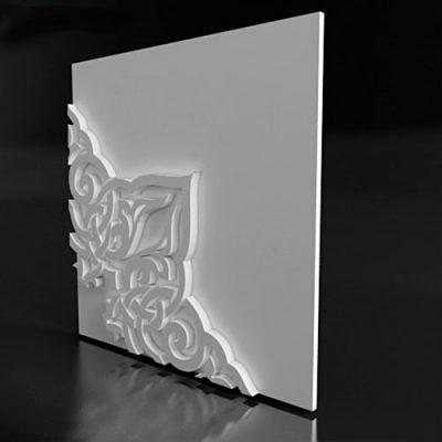 Форма для 3D панелей East-4